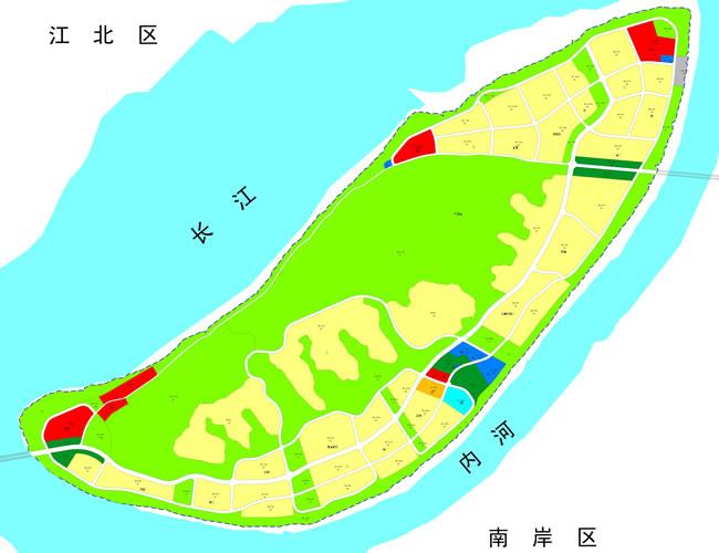 广阳岛片区 序号 区域 地块名称 用途 土地级别 可出让面积(平方米)